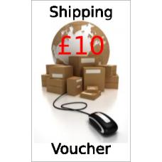 Shipping voucher - £10