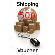 Shipping voucher - 50p